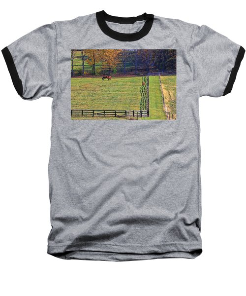 Horse Country # 2 Baseball T-Shirt