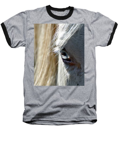 Horse Eye Baseball T-Shirt