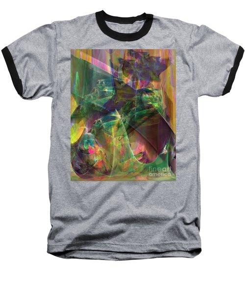 Horse Feathers Baseball T-Shirt by John Robert Beck