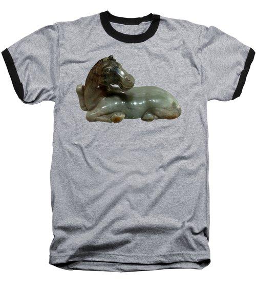 Horse Figure Baseball T-Shirt