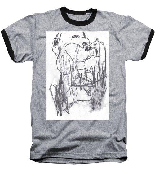 Horse Kiss Baseball T-Shirt