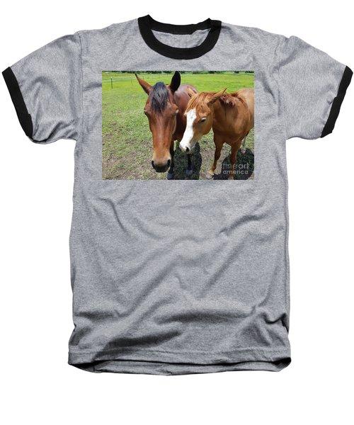 Horse Love Baseball T-Shirt