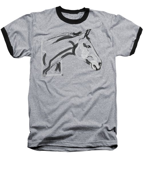 Horse - Lovely Baseball T-Shirt