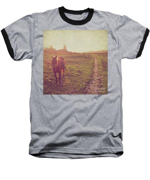 Horse Baseball T-Shirt