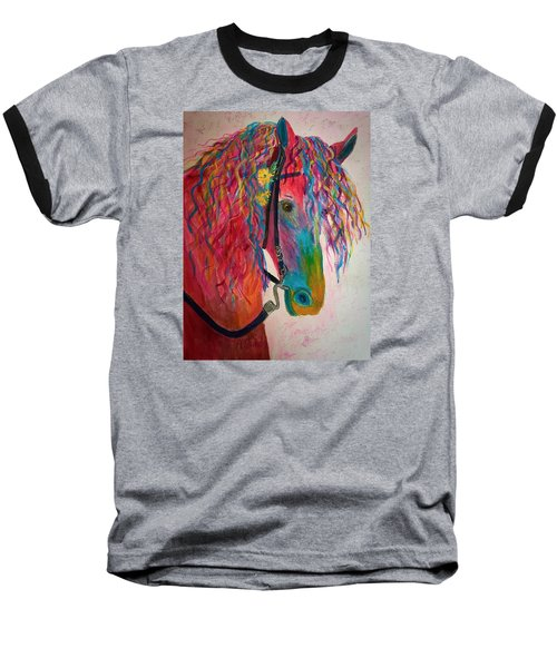 Horse Of A Different Color Baseball T-Shirt