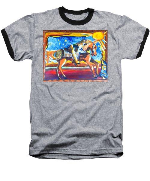 Horse Whisperer Baseball T-Shirt