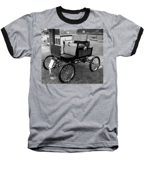 Horseless Carriage-bw Baseball T-Shirt
