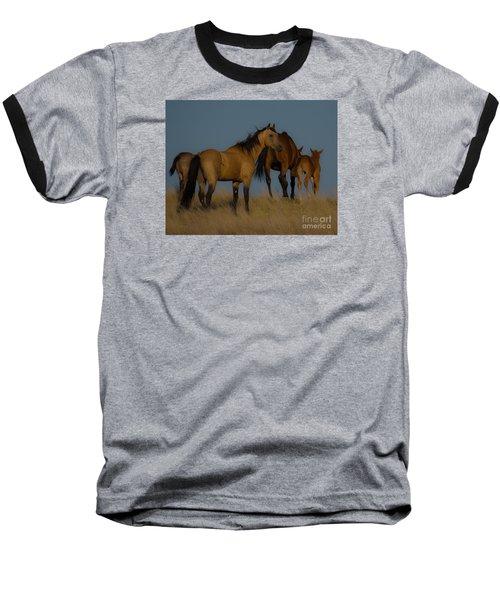 Horses 1 Baseball T-Shirt
