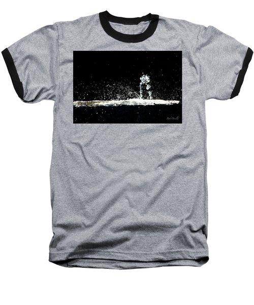 Horses And Men In Rain Baseball T-Shirt