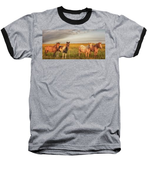 Horses At Kalae Baseball T-Shirt