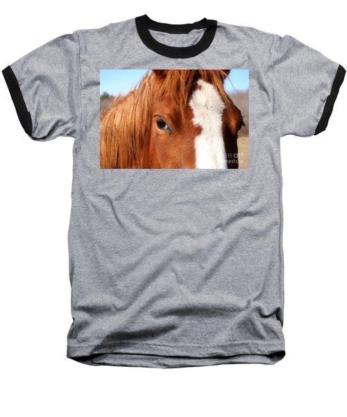 Horse's Mane Baseball T-Shirt