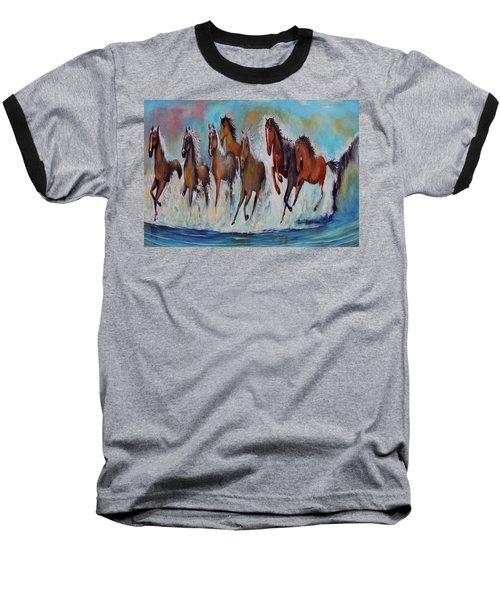 Horses Of Success Baseball T-Shirt