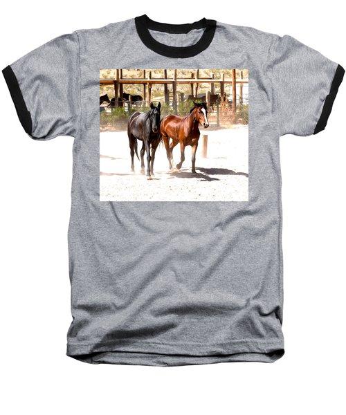 Horses Unlimited_6a Baseball T-Shirt