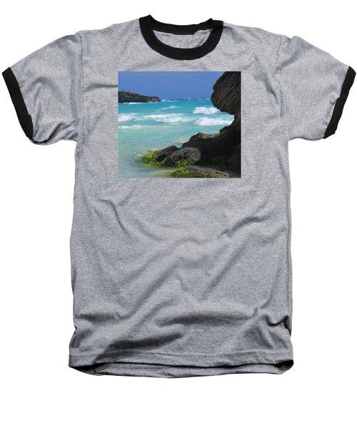 Horseshoe Bay Rocks Baseball T-Shirt