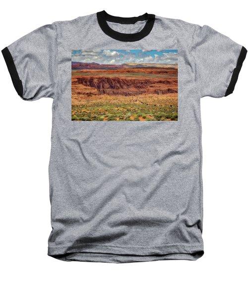 Baseball T-Shirt featuring the photograph Horseshoe Bend Arizona #2 by Jennifer Rondinelli Reilly - Fine Art Photography