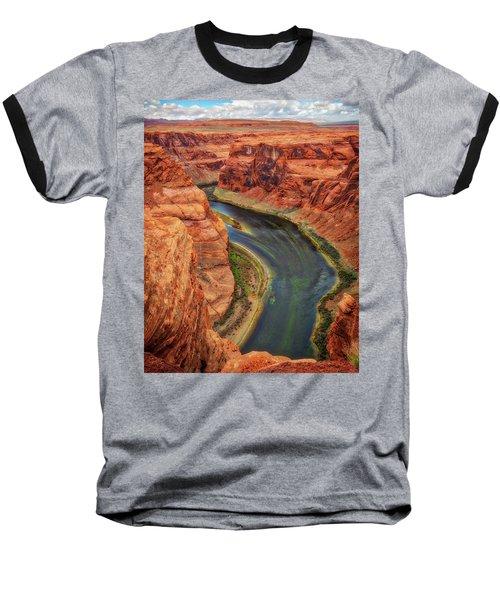 Baseball T-Shirt featuring the photograph Horseshoe Bend Arizona - Colorado River #3 by Jennifer Rondinelli Reilly - Fine Art Photography