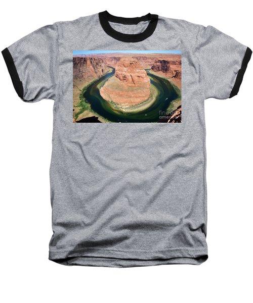 Horseshoe Bend Colorado River Baseball T-Shirt