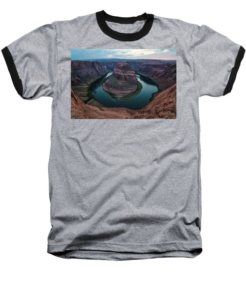 Baseball T-Shirt featuring the photograph Horseshoe Bend by Margaret Pitcher