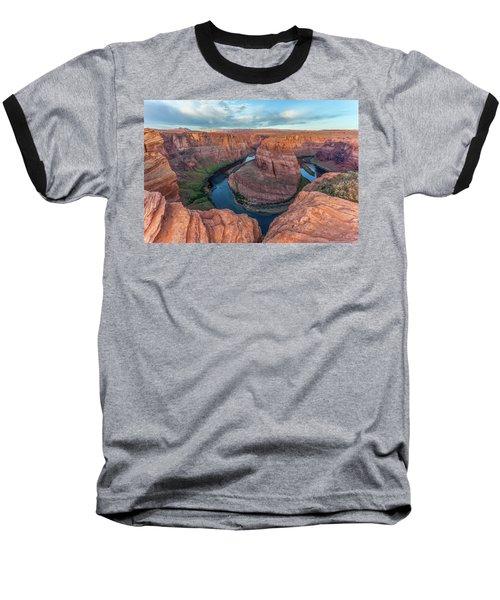 Horseshoe Bend Morning Splendor Baseball T-Shirt