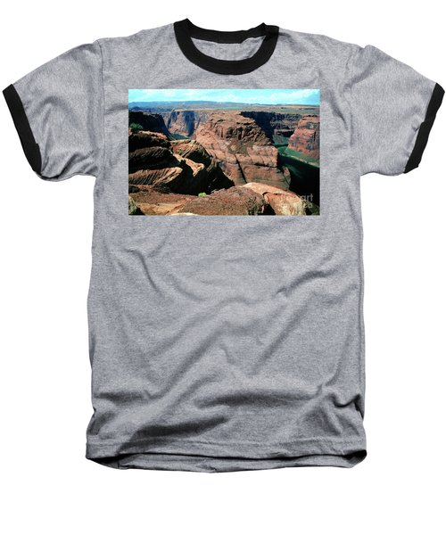 Horseshoe Bend Of The Colorado River Baseball T-Shirt by Wernher Krutein
