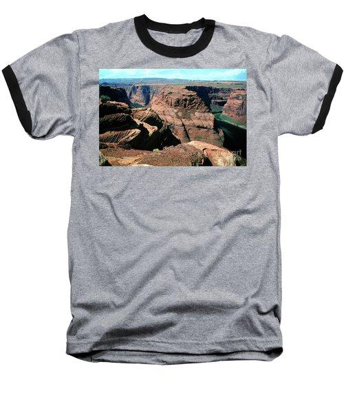 Horseshoe Bend Of The Colorado River Baseball T-Shirt