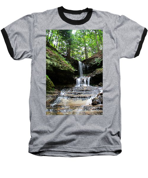 Horseshoe Falls #6736 Baseball T-Shirt