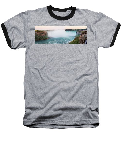 Horseshoe Falls At Dusk Baseball T-Shirt