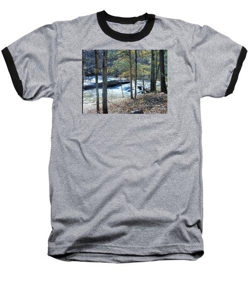 Baseball T-Shirt featuring the photograph Horseshoe Falls by Kay Gilley