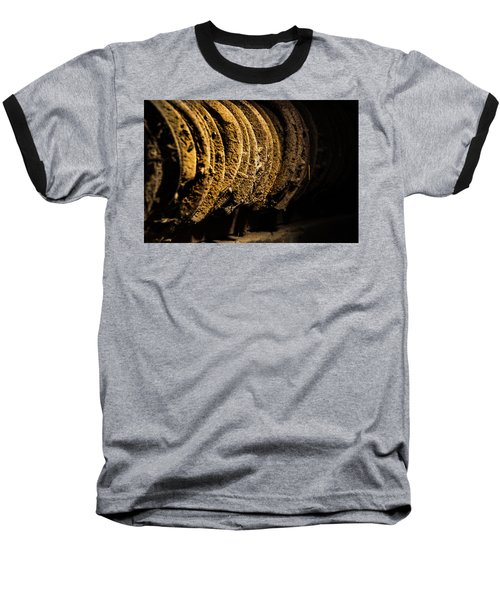 Baseball T-Shirt featuring the photograph Horseshoes by Jay Stockhaus