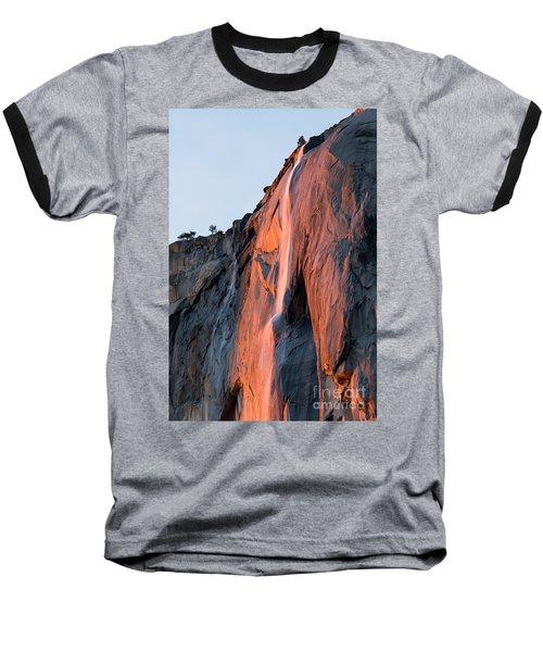 Horsetail Falls 2 Baseball T-Shirt