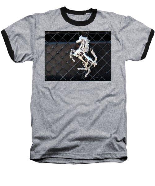 Baseball T-Shirt featuring the photograph Horsey by John Schneider