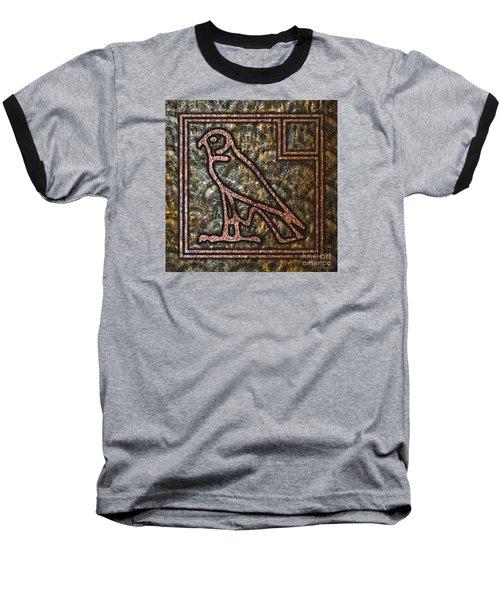 Horus Falcon Baseball T-Shirt
