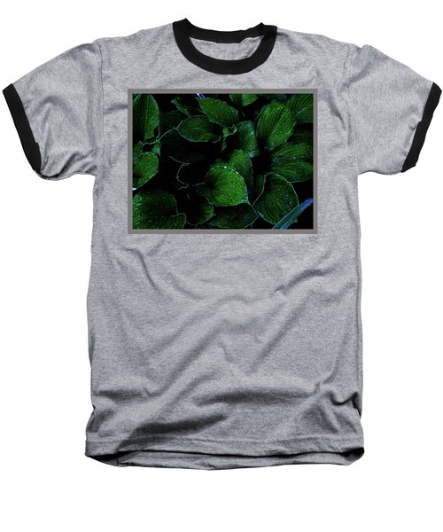 Hostas After The Rain II Baseball T-Shirt