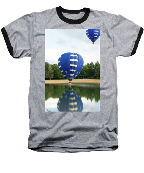 Hot Air Balloon Baseball T-Shirt