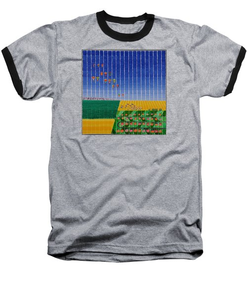 Hot Air Balloon Party Baseball T-Shirt