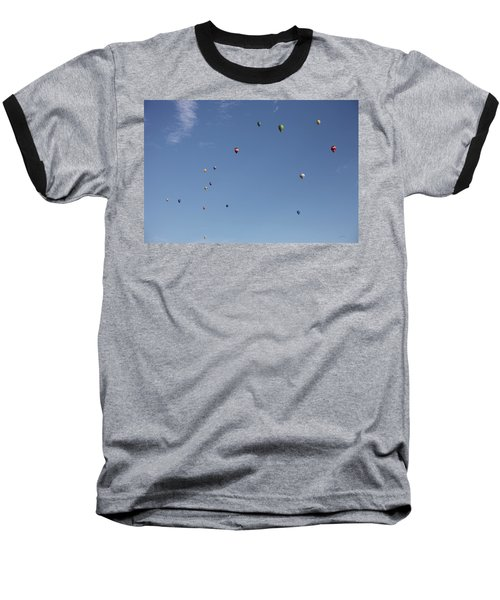Hot Air Rising  Baseball T-Shirt