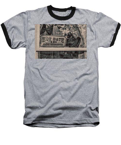 Hot Bath Baseball T-Shirt