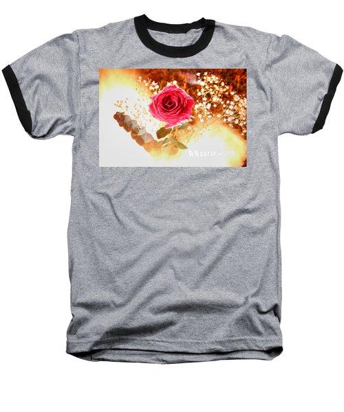 Hot Beauty Baseball T-Shirt by Andrew Nourse