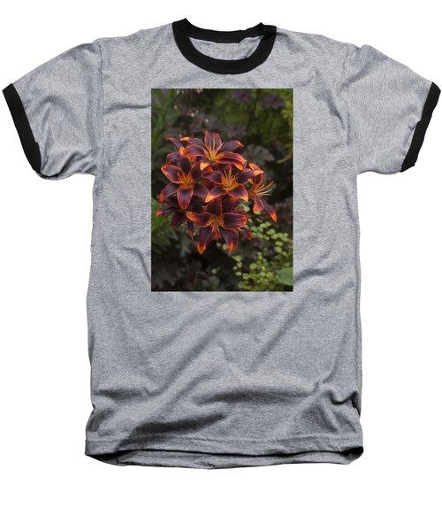 Hot Bouquet Baseball T-Shirt by Morris  McClung