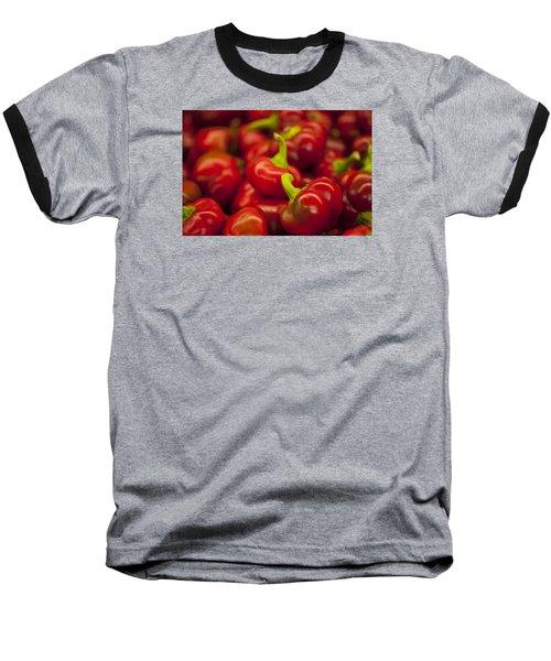Hot Cherry Peppers Baseball T-Shirt