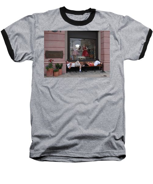 Hot In The City Baseball T-Shirt