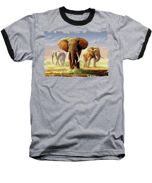 Hot Mara Afternoon Baseball T-Shirt by Anthony Mwangi