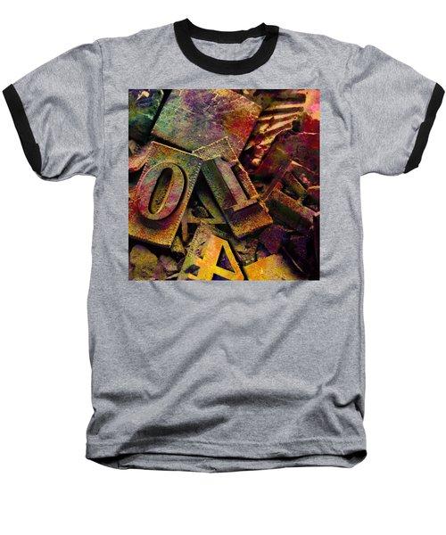 Hot Metal Type Baseball T-Shirt