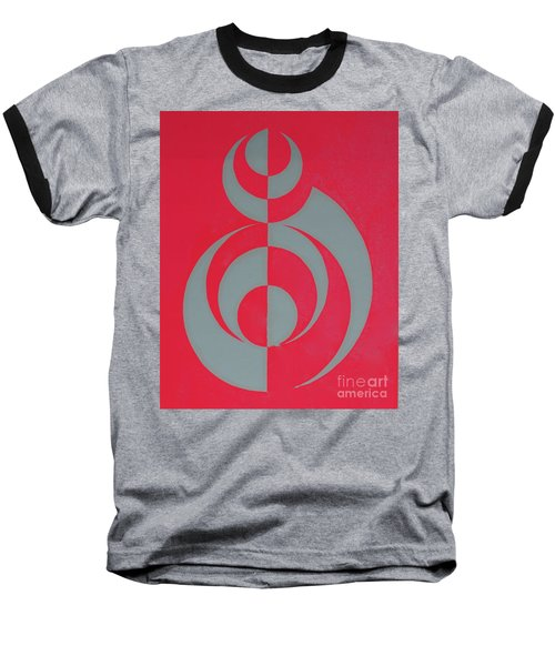Hot Pink Dancer Baseball T-Shirt