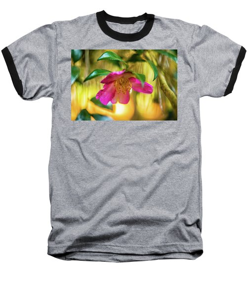 Hot Pink  Baseball T-Shirt