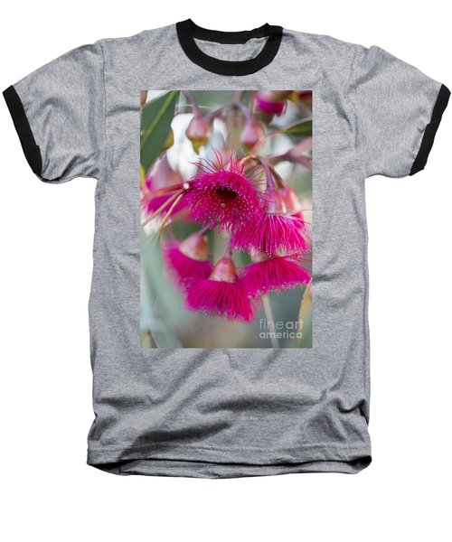 Baseball T-Shirt featuring the photograph Hot Pink by Linda Lees