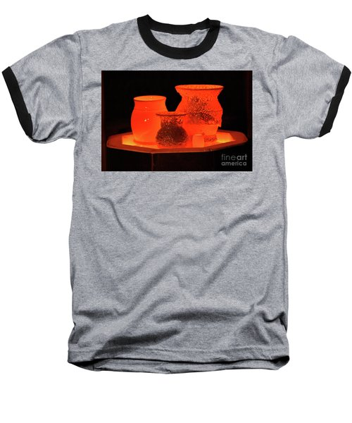 Baseball T-Shirt featuring the photograph Hot Pots by Skip Willits