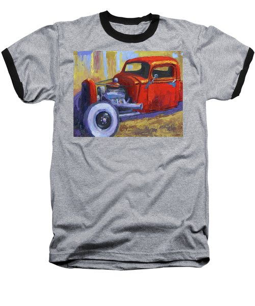 Hot Rod Chevy Truck Baseball T-Shirt