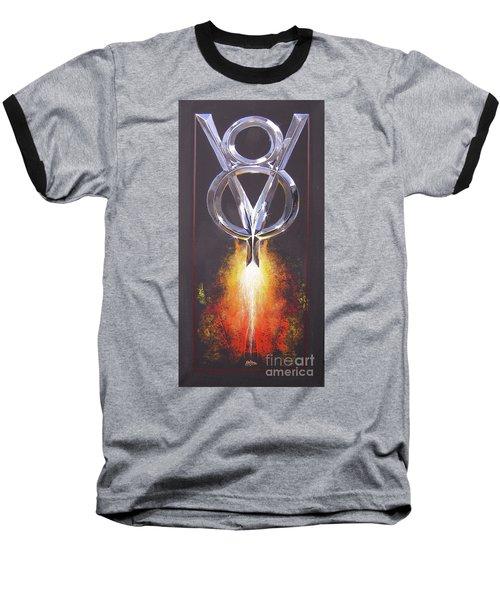 Hot Rod Power  Baseball T-Shirt