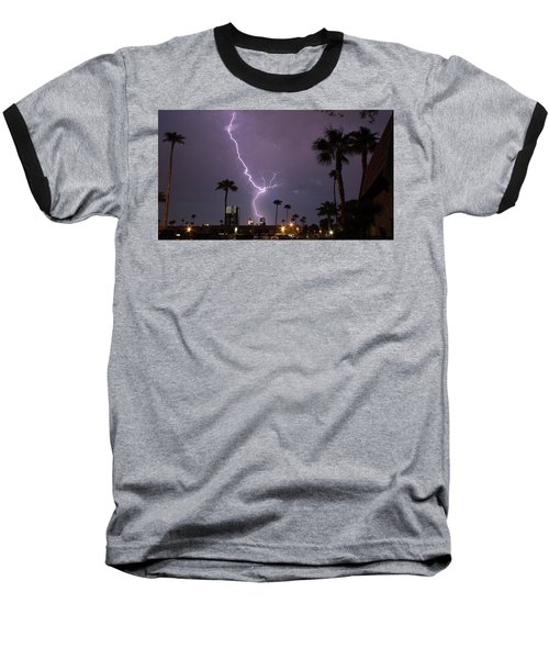 Baseball T-Shirt featuring the photograph Hot Stuff by Michael Rogers